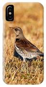 Fieldfare IPhone Case