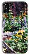 Fields And Fences Of Wawona In Yosemite National Park IPhone Case