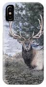 Fields Peak Elk IPhone X Case