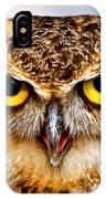 Fierce Eyes IPhone Case by Parker Cunningham