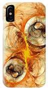 Fiery Birth IPhone Case