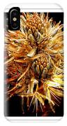 Fiery Floral IPhone Case
