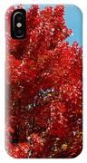 Fiery Leaves IPhone Case