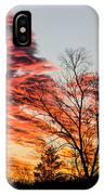 Fiery Sundown IPhone Case