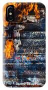 Fiery Transformation IPhone Case