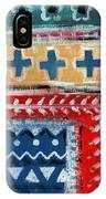 Fiesta 3- Colorful Pattern Painting IPhone Case