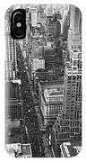 Fifth Avenue In New York City. IPhone Case