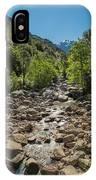 Figarella River In The Foret De Bonifatu In Corsica IPhone Case