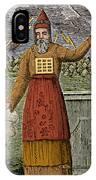 Figure Symbolizing Judaism IPhone Case
