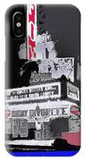 Film Homage Astaire Rogers The Gay Divorcee Collage Rko Radio Fox Tucson 1934-2012 IPhone Case