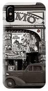 Film Homage Bela Lugosi Shadow Of Chinatown 1936 John Vachon Fsa Alamo Theater Washington D.c. 2010 IPhone Case