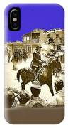 Film Homage Cameron Mitchell The High Chaparral Main Street Old Tucson Az Publicity Photo IPhone Case