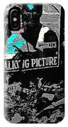 Film Homage Dolores Costello George O'brien Noah's Ark 1928 Ralph Steiner 1929-2008 IPhone Case