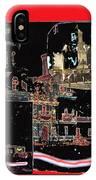 Film Homage Eclair The Renunciation 1914 Collage San Xavier Del Bac Tucson Arizona C.1890-2008   IPhone Case