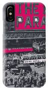 Film Homage John Gilbert King Vidor The Big Parade 1925 Color Added 2010 IPhone Case