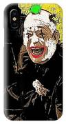 Film Homage Lon Chaney He Who Gets Slapped 1924 Color Added 2008 IPhone Case