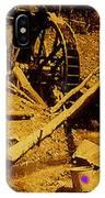 Film Homage Sergei Eisenstein Sutter's Gold 1930 Mining Sluice 1880's-2008 IPhone Case