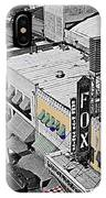 Film Homage The Gay Desperado World Premiere 1936 Fox Tucson Tucson Arizona Art Deco 2008 IPhone Case