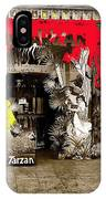 Film Homage The Revenge Of Tarzan Criterion Theater Washington Dc. 1920-2010 IPhone Case