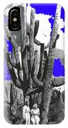 Film Homage Victor Fleming Jean Harlow Bombshell 1933 Saguaro Nat'l Monument Tucson 2008 IPhone Case