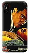 Film Noir Gerd Oswald Robert Wagner A Kiss Before Dying 1956 Poster Color Toning Added 2008 IPhone Case