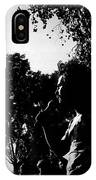 Film Noir Jerry Rubin Lawrence Tierney Elisha Cook Jr Rko Born To Kill 1947 Tucson Arizona 1970 IPhone Case