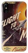 Film Poster Flight To Mars IPhone Case