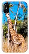 Find The Giraffe IPhone Case