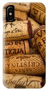 Fine Wine Corks IPhone Case