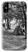 Finger Lakes Camping IPhone Case