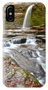 Finger Lakes Waterfall IPhone Case