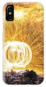 Fire And Ice II IPhone Case
