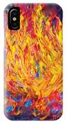 Fire And Passion - Here's To New Beginnings IPhone Case