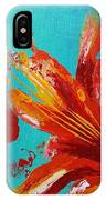 Fire And The Sky IPhone Case