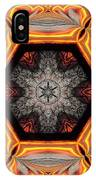 Fire Circle IPhone Case