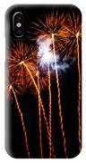 Fire Dandelion Bouquet IPhone Case