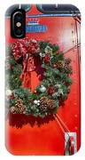 Fire Department Christmas 1 IPhone Case