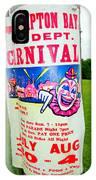 Fire Dept. Carnival IPhone Case