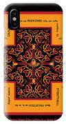 Fire Dragon Celtic Cross IPhone X Case