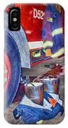 Fire Engine - Firemen - Equipment IPhone Case