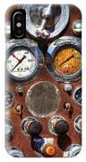Fire Engine Gauges IPhone Case