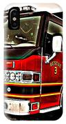 Fire Engine Red IPhone Case