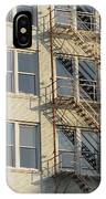 Fire Escape And Bird IPhone Case