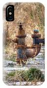 Fire Hydrant For The Weeds IPhone Case