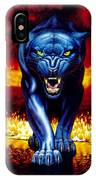Fire Panther IPhone Case