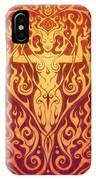 Fire Spirit V.2 IPhone Case