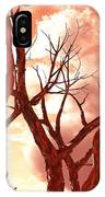 Fire Trees IPhone Case