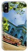 Fire Truck And Ferry Building IPhone Case