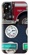 Fire Truck With Isolated Views IPhone Case