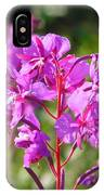 Fire  Weed 3 IPhone Case